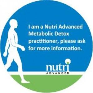 metabolic detox logo sticker